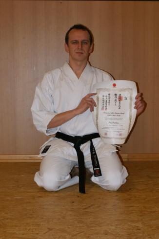 Fischlein, Jörg | Karate seit 1997 | 1. Dan am 13.11.2010 bei Ochi Sensei