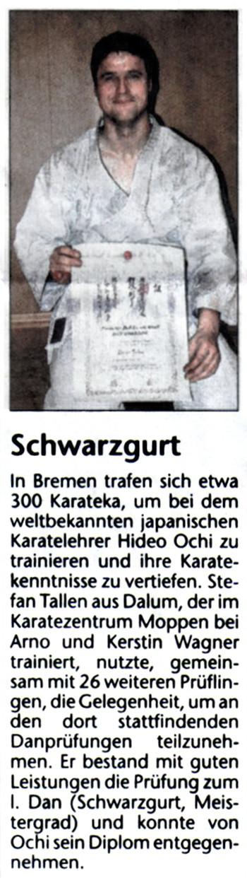 Schwarzgurt 02.01.2006