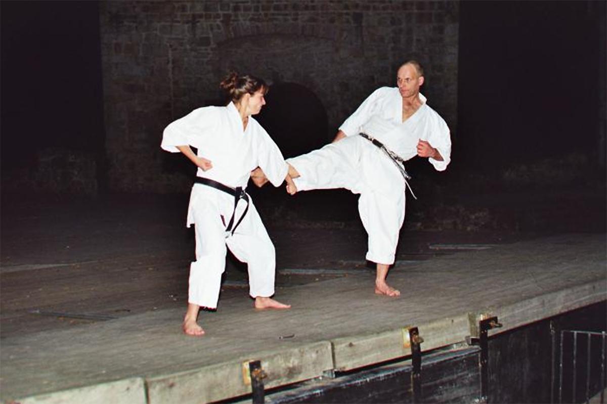 Arno und Kerstin Wagner | Kumite 7