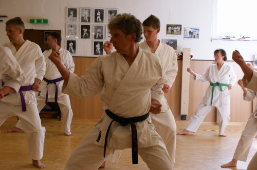 Vinke, Dieter | 1.Dan am 01.08.2008 bei Gasshuku in Hannover | 2.Dan am 03.08.2012 bei Gasshuku in Konstanz