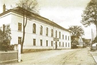 Auch das Erbgericht in Altklotzsche war ein beliebtes Lokal des Vereines für Ausstellungen und Sommerfeste.