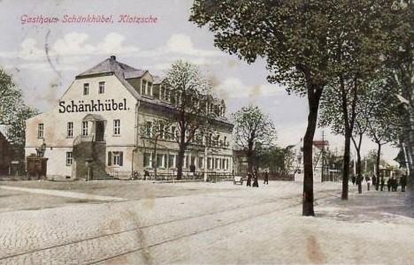 Der Schänkhübel um 1900. Hier fanden bis 1900 die Geflügelausstellungen des Vereins statt.