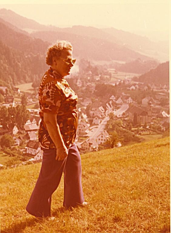 Als Rentnerin auf die Berge