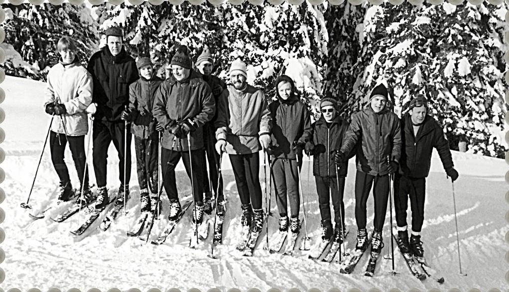 Skikurs in Obersdorf