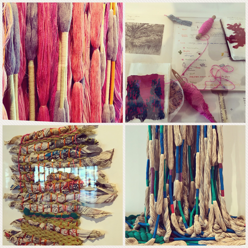Ausstellung imCentre Pompidou, Sheila Hicks, bis 30. April.