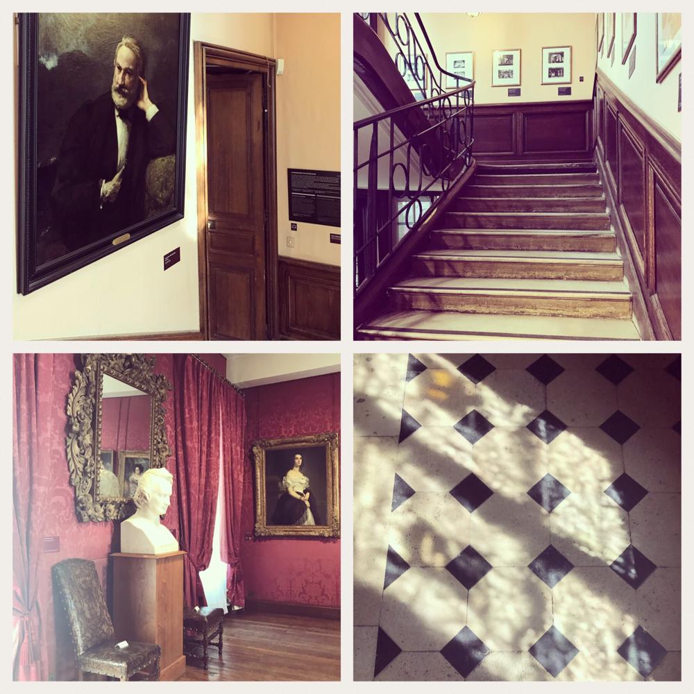 Am Place des Voges, Wohnung von Victor Hugo.
