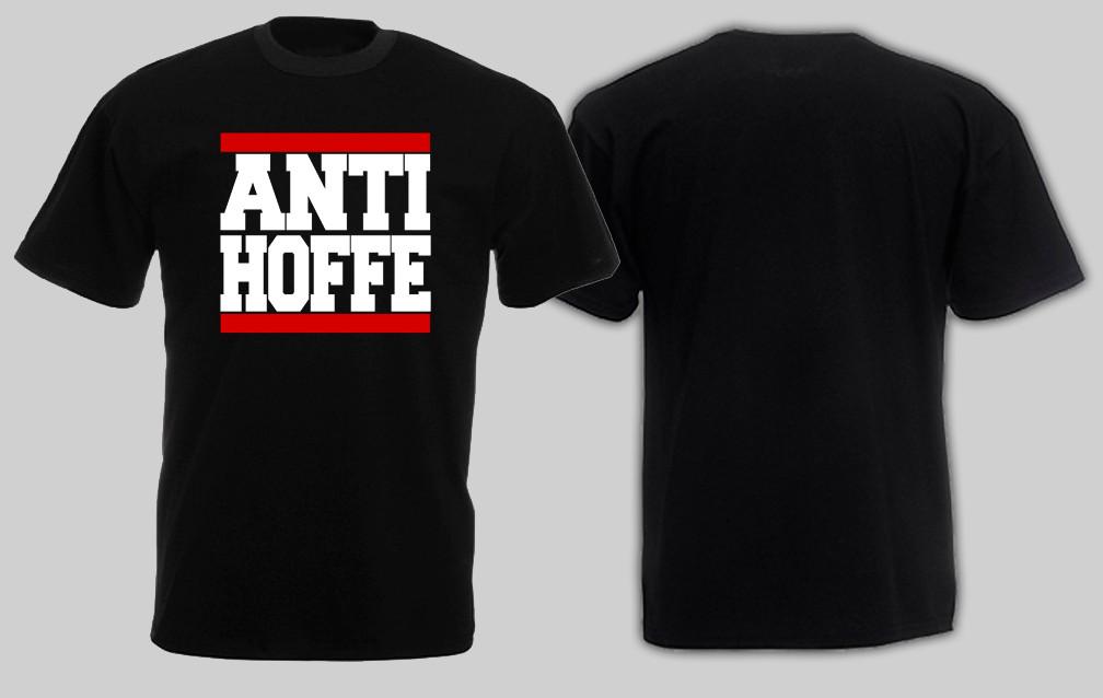 Anti Hoffe Shirt Schwarz