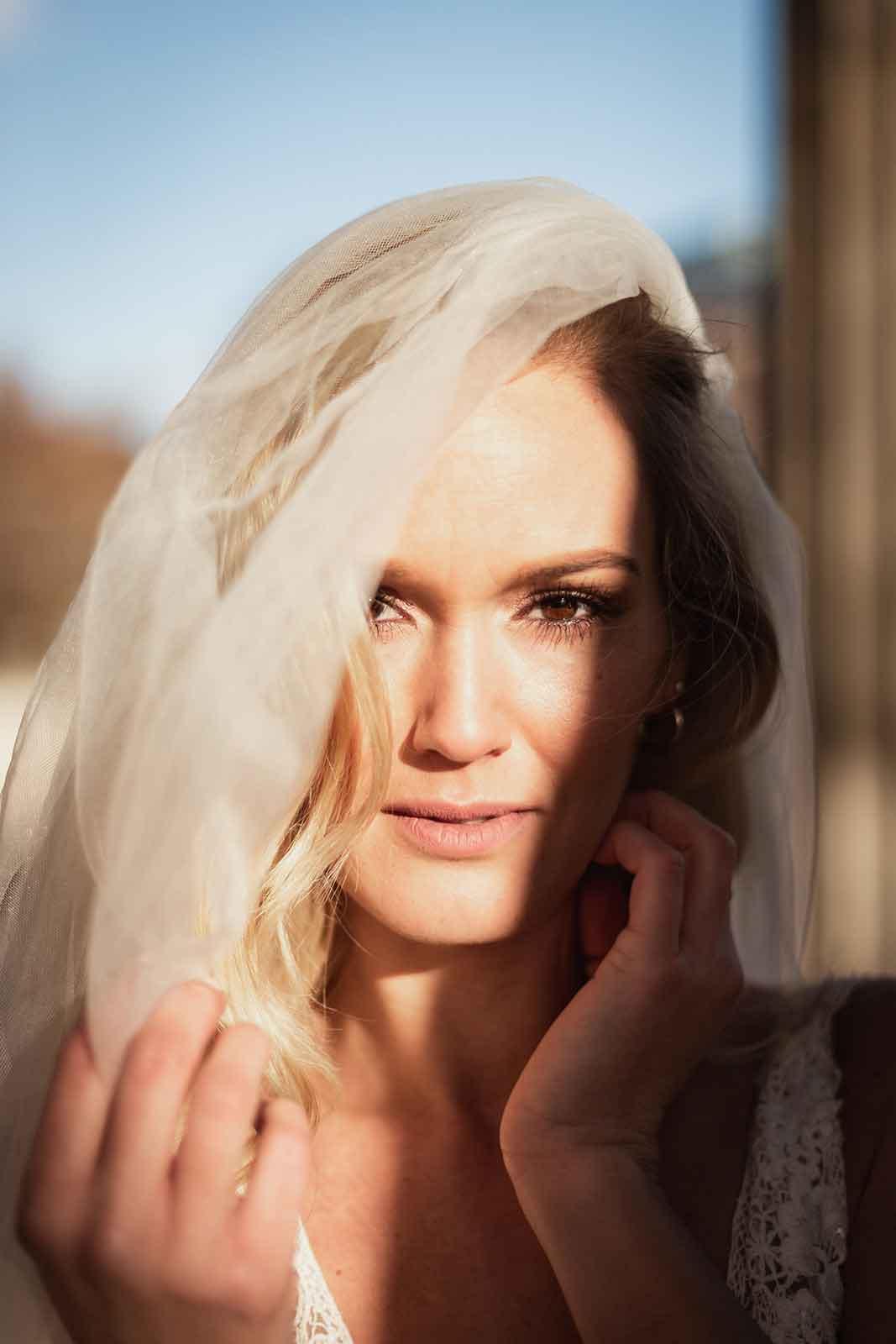 Das perfekte Brautstyling