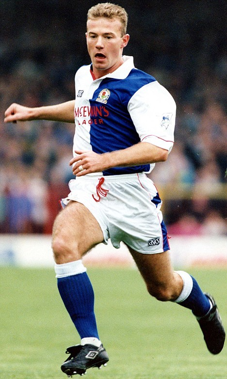 Alan Shearer Blackburn Rovers 1992-1993