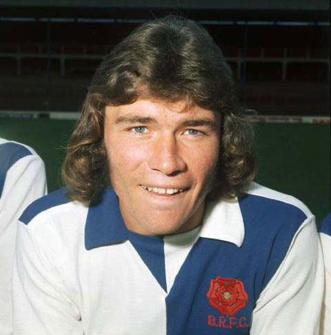 Blackburn Rovers Derek Fazackerley