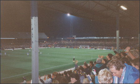1992: Looking towards The Blackburn End from The Riverside.