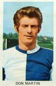 Blackburn Rovers Don Martin