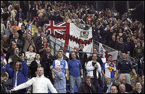 Blackburn Rovers; Red Bull Salzburg; Blackburn Rovers fans