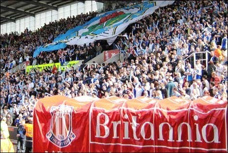 Blackburn Rovers; Stoke City; Blackburn Rovers fans
