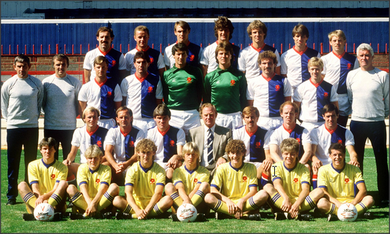 Blackburn Rovers: 1984-1985