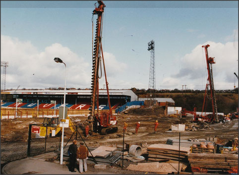 The Darwen End construction, 1993.