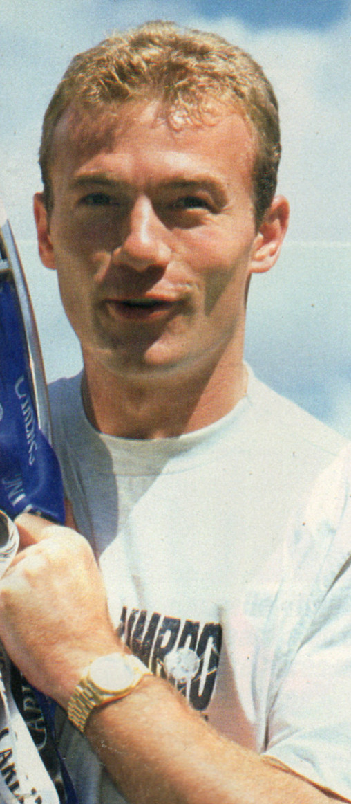 Alan Shearer Blackburn Rovers Premier League Champions, 1995