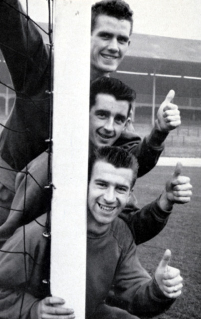 Top: Ronnie Clayton; Middle: Roy Vernon; Bottom: Brian Douglas - Ewood Park, 1960's.