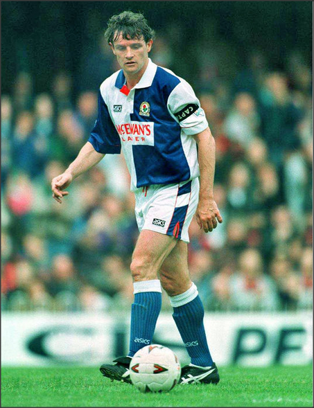 Blackburn Rovers Kevin Moran