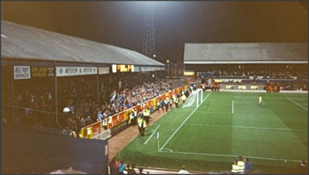 1992: Looking towards The Darwen End from The Riverside.