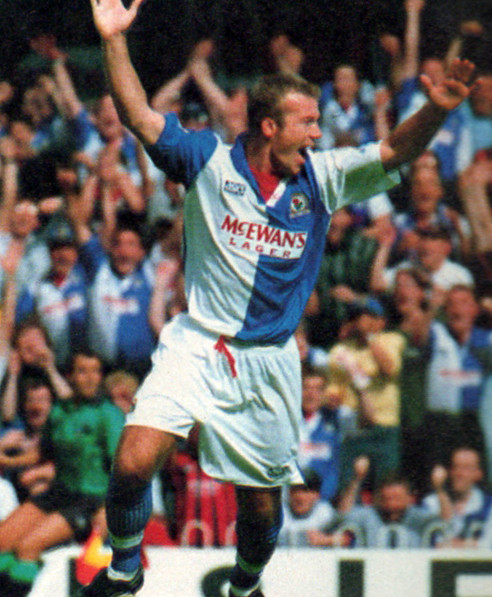 Alan Shearer Blackburn Rovers 1994-1995