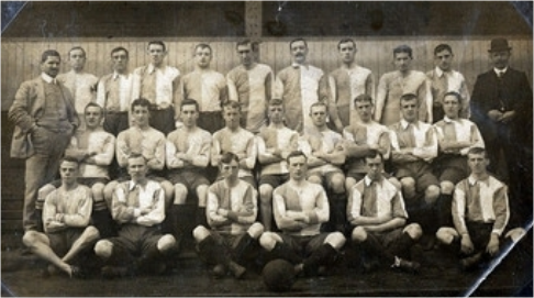 Blackburn Rovers: Division 1, 1909.