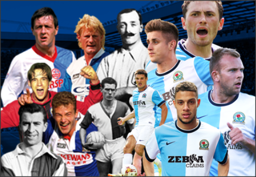 Blackburn Rovers; Simon Garner; Colin Hendry; Bob Crompton; Matt Jansen; Alan Shearer; Brian Douglas; Ronnie Clayton; Rudy Gestede; Kordan Rhodes; Tom Cairney;