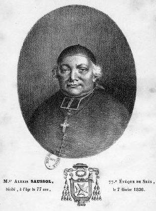 Mgr Saussol, évêque de Séez (1817-1836)