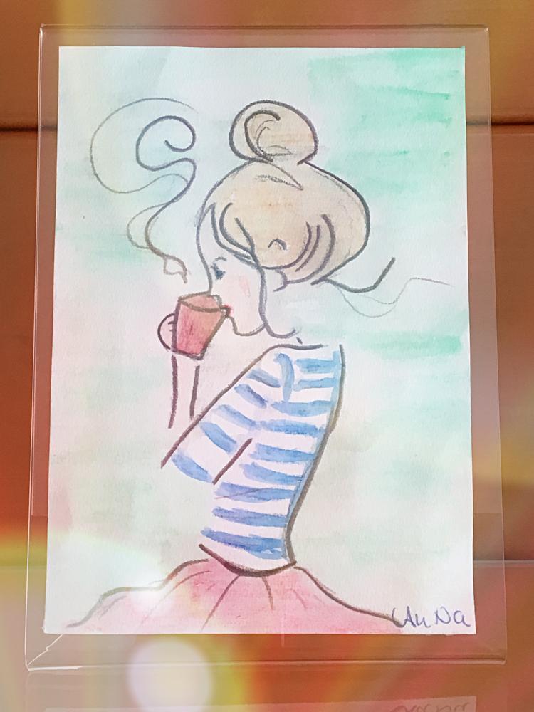 Aquarell auf Papier