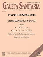 Informe SESPAS 2014.
