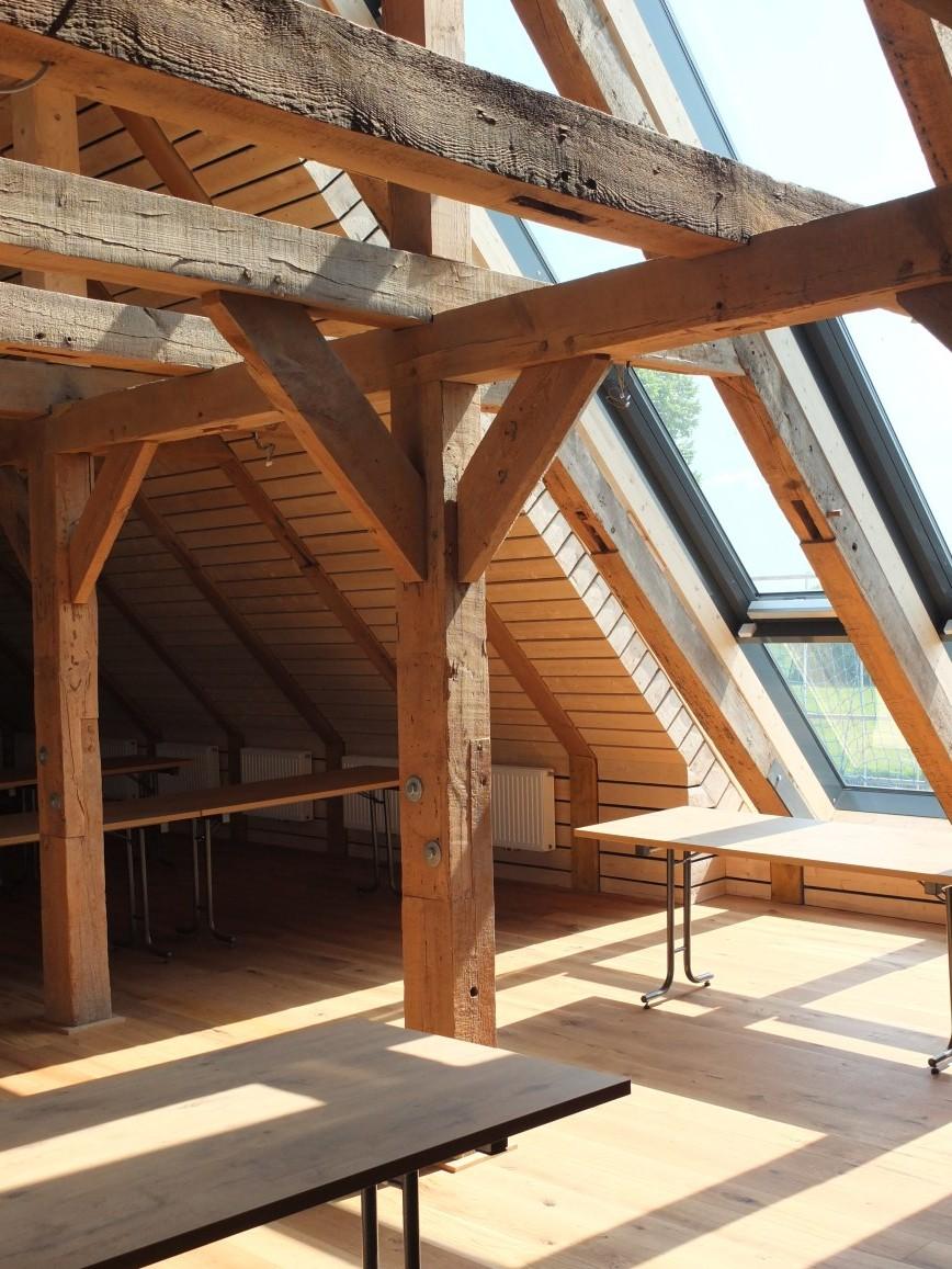 versetzte ebenen holz fussboden dachschraege design, bautagebuch - historischer kornspeicher freiburg/elbe, Design ideen