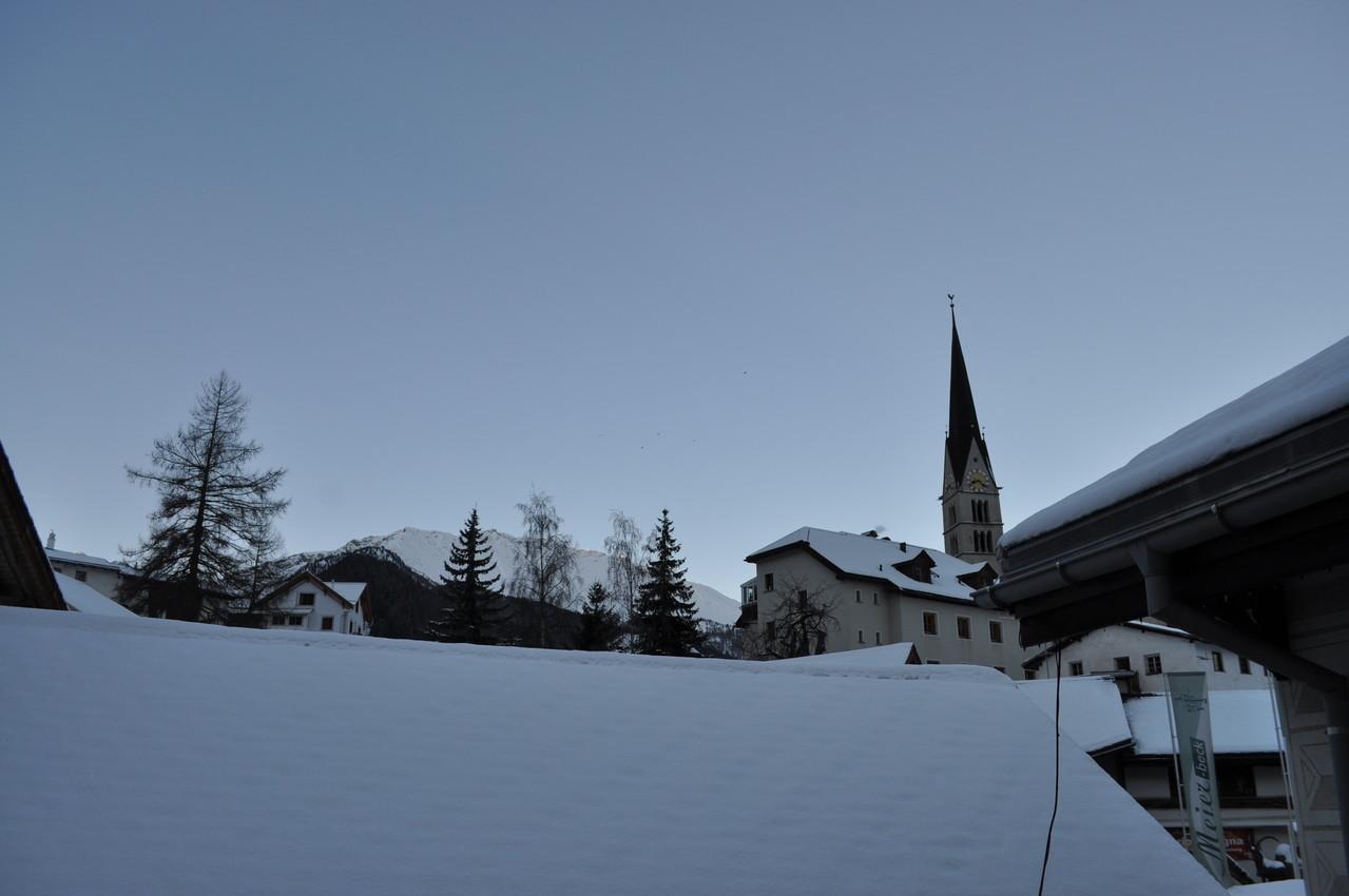 Balkon richtung Kirche