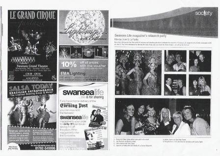 Swansea Life Magazine's Relaunch Party
