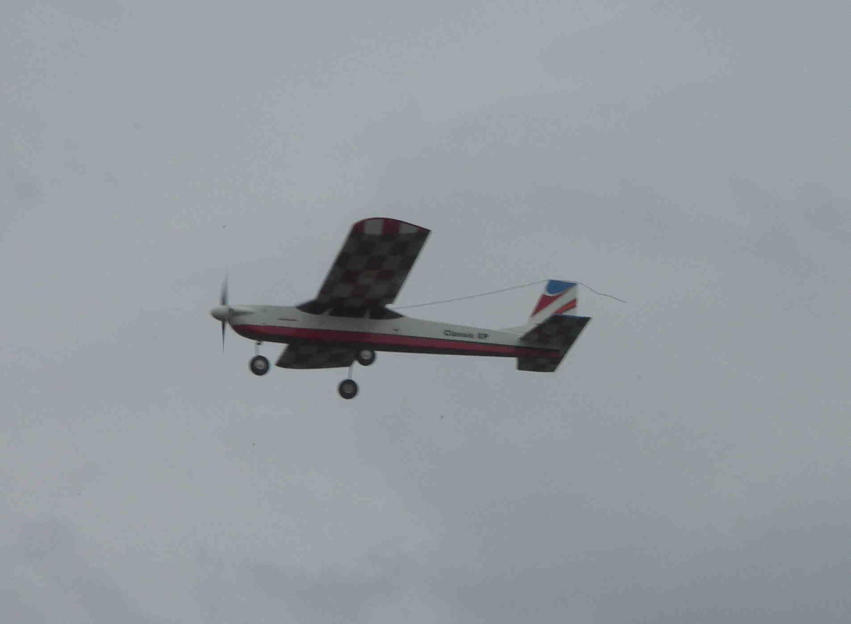 Le trainer en vol