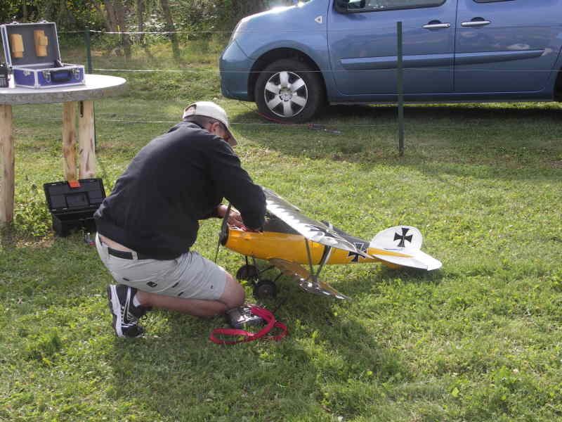 Jean-Claude prépare l'Albatros
