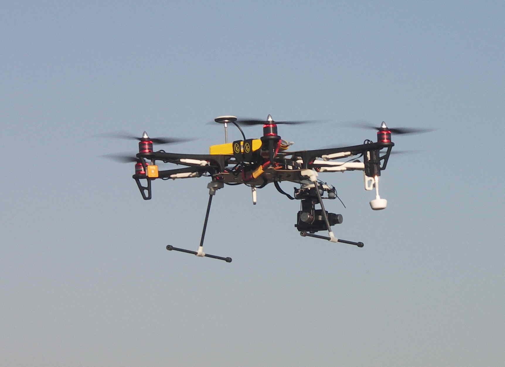 Le drone de Seb