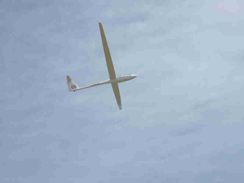 L'ASH 25 en vol