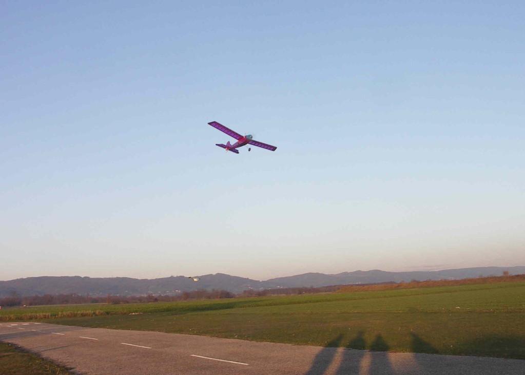 Le Minibaron en vol