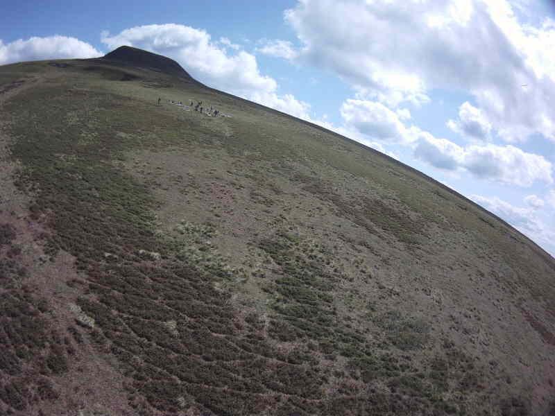 La Banne d'Ordanche depuis le versant nord