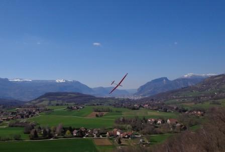 Un Alpina (4m d'env.)