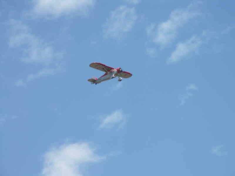 Le Potez 58 en vol