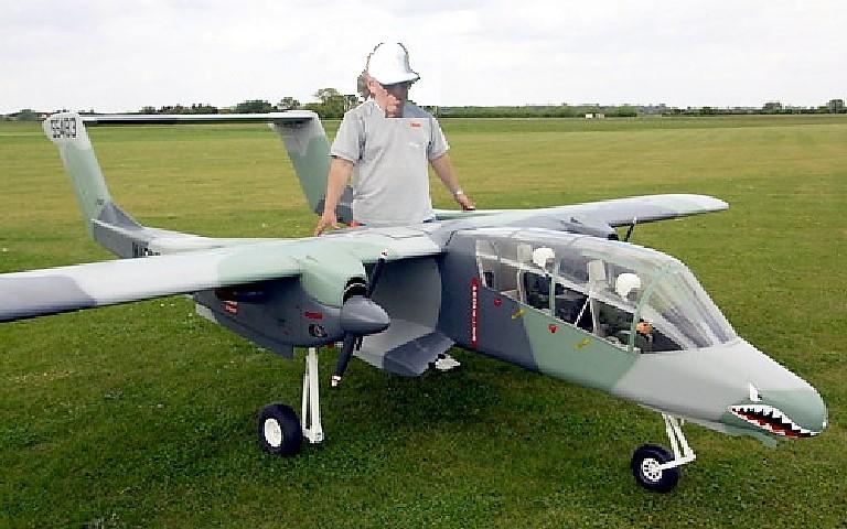 Plus c'est grand, mieux ça vole ! Mais le hangar va être juste !!!