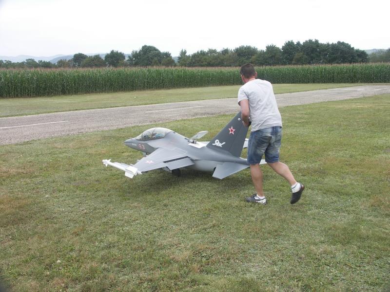 Dorian et son Yak 130