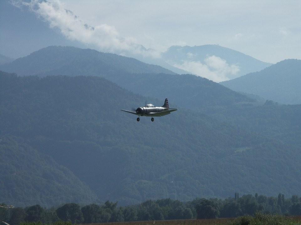 Le Dauntless en vol