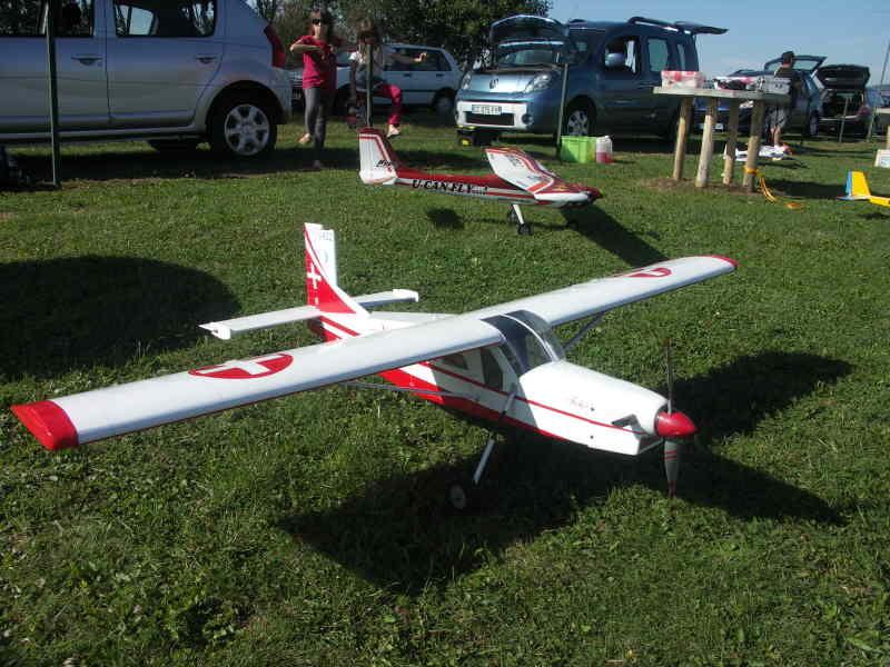 Le Pilatus PC6 d'Edouard