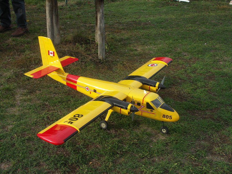 Le Twin Otter (DHC-6) d'Edouard