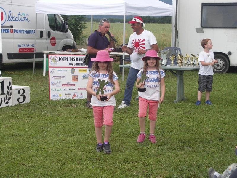 Prix des plus jeunes pour Iris et Clara