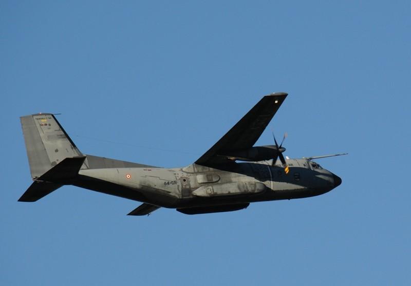 Le magnifique transall de l'armée de l'air !