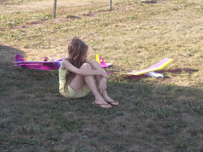 Méditation avant le vol !