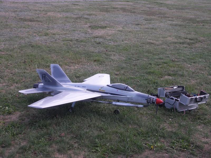Le F14 (à Hélice !) de Pierre